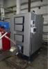 Sumontuotas ir paleistas 150 kW galios degiklis su katilu