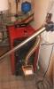 Granulių degiklis BurnPell X.Mini (26 kW) sumontuotas kieto kuro katile VIADRUS