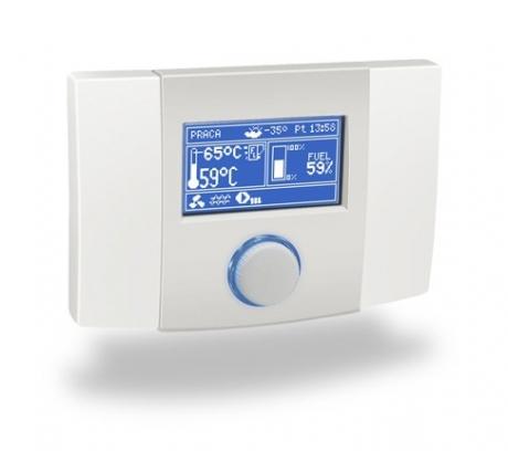 Kambario valdymo pultas su vidaus temperatūros davikliu ecoSTER200
