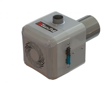 Rotacinis granulių degiklis BurnPell EVO Mini (26 kW)