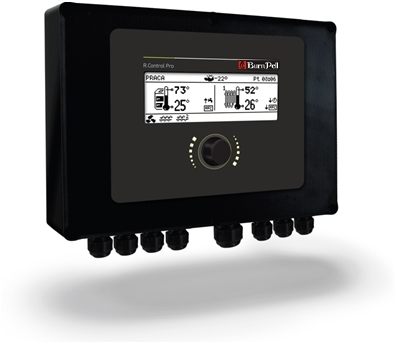 Valdymo pultas su LCD ekranu S.Control ecoMAX