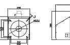 Granulių degiklis BurnPell X 120 (120 kW)