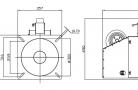 Granulių degiklis BurnPell X 350 (350 kW)