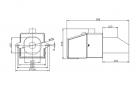 Granulių degiklis BurnPell X Mini (26 kW)