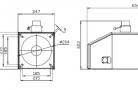 Rotacinis granulių degiklis BurnPell EVO 100 (100 kW)